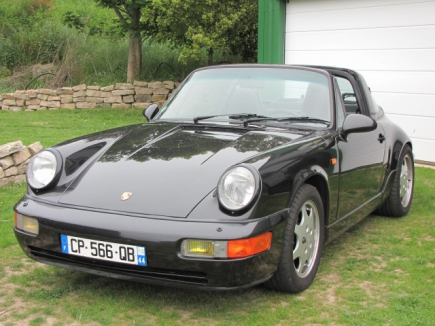 Photo Porsche 964 Targa